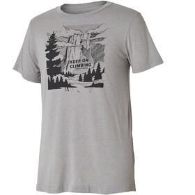 Royal Robbins Keep On Climbing Miehet Lyhythihainen paita , harmaa